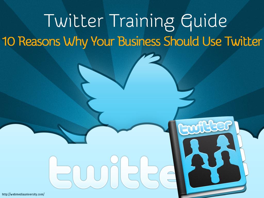 Twitter Training Tips