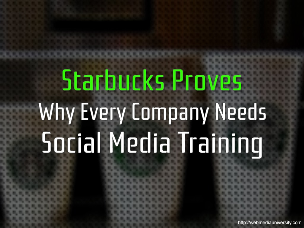 Starbucks Proves