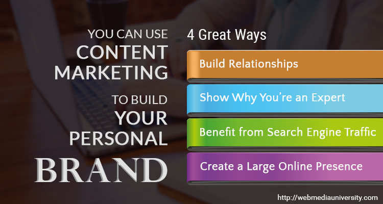 Content Marketing for Build Your Personal Brand