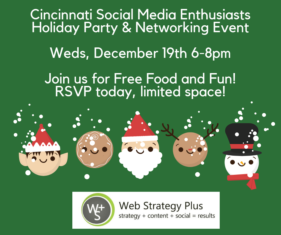 Join us for our Annual Cincinnati Social Media Enthusiasts